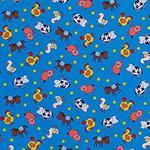 Designer pattern Animal Farm