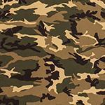 Designer pattern Camo - Desert Storm