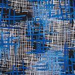 Designer pattern Hatchet - Blue