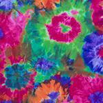 Designer pattern Neon Tie-Dye Purple