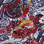Designer pattern Painted Dragon