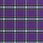 Designer pattern Plaid - Purple