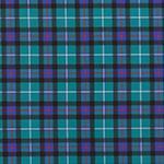 Designer pattern Plaid - Blue
