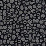 Designer pattern Skulls - Grey